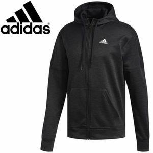 Men's adidas Team Issue Fleece Full Zip Hoodie